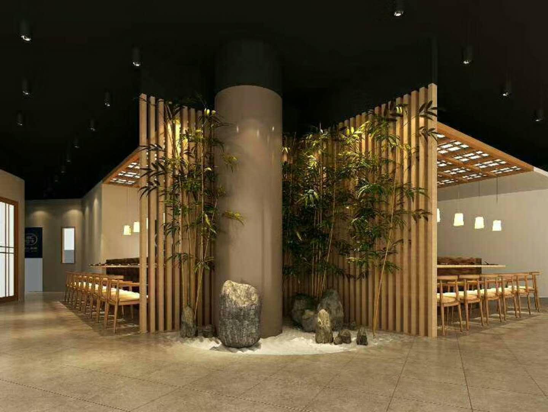 稻禾膳日式料理餐厅设计