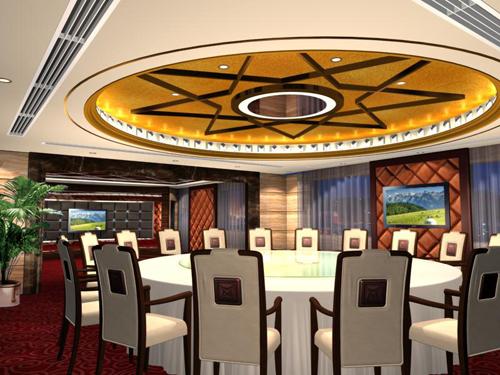 鄂尔多斯酒店餐厅设计说明