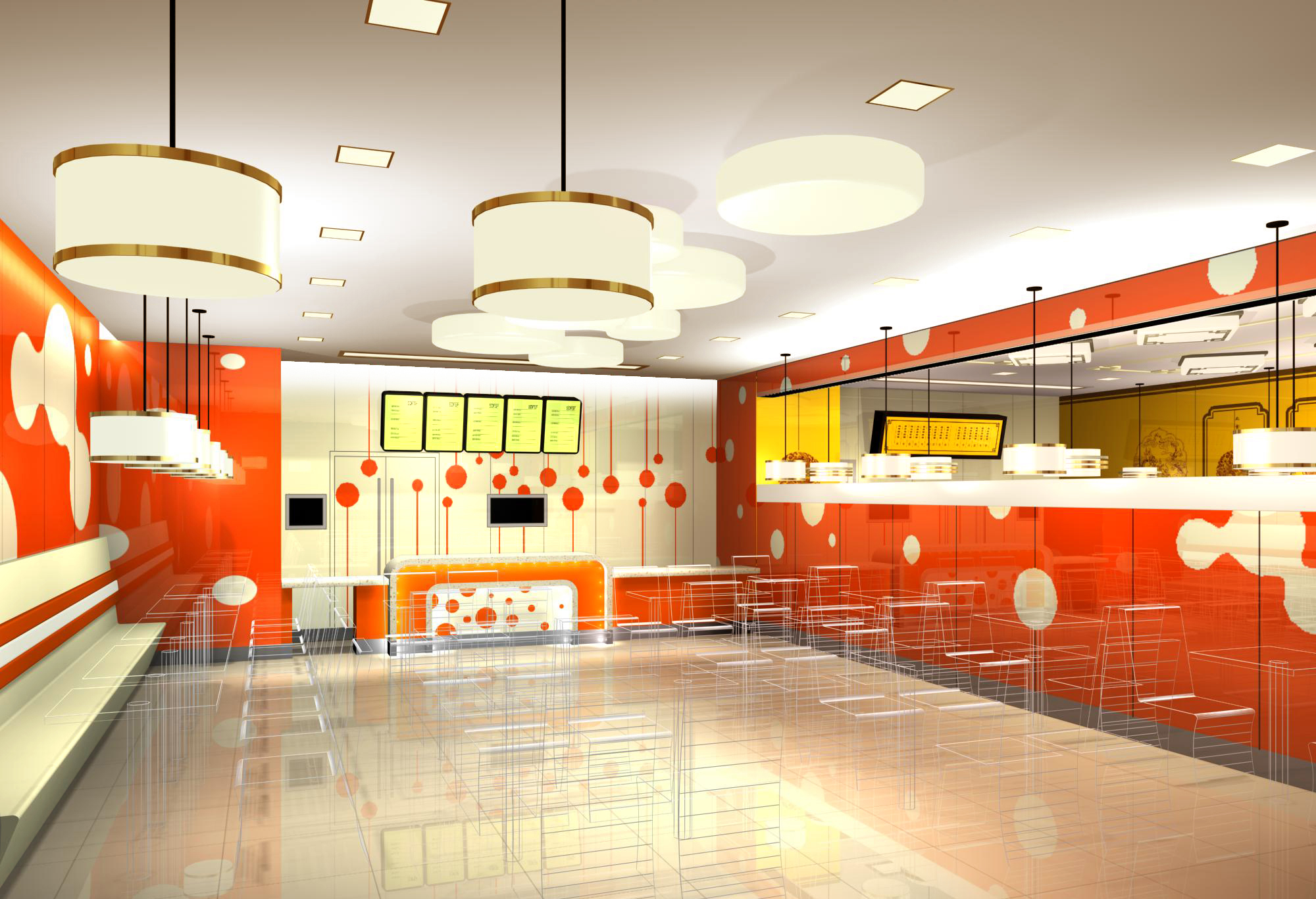快餐厅设计