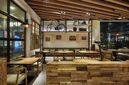 带你感受主题餐厅设计的氛围——拾味馆
