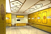朝外SOHO中式快餐厅设计        120㎡