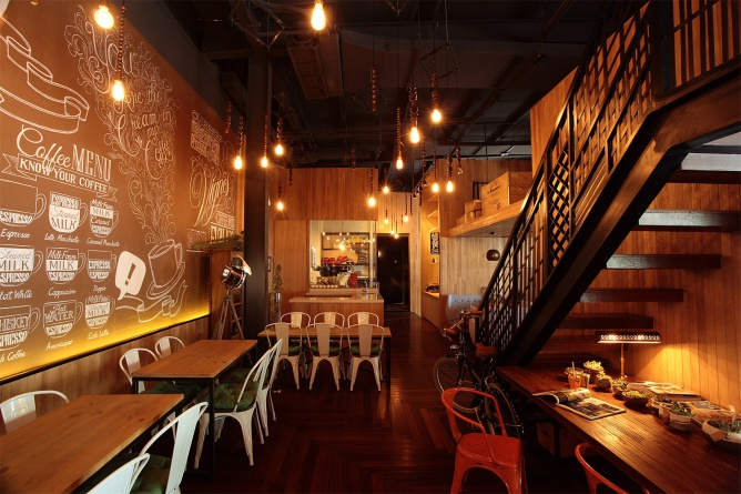 COFFEE MOO 咖啡厅设计