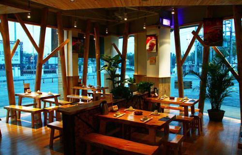 木屋烧烤餐厅设计