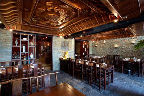 重庆品味轩餐厅设计