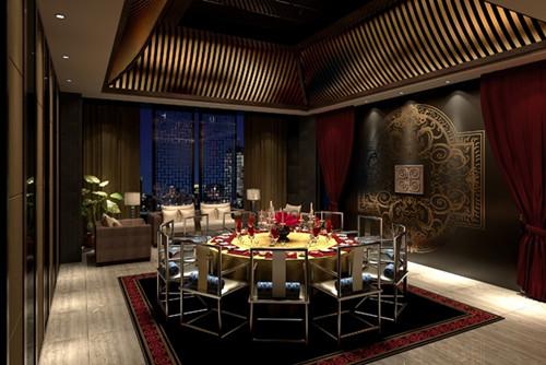 北京朵颐中餐厅设计