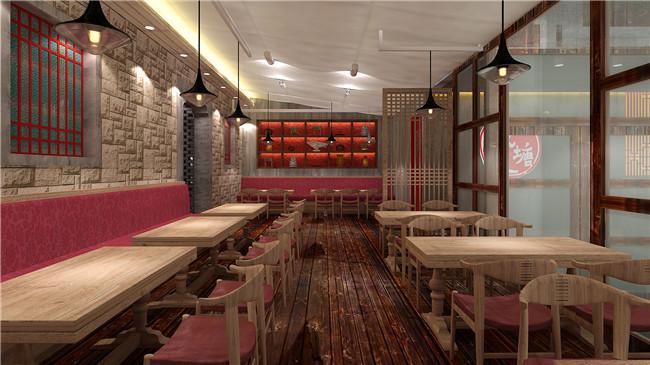 椒塘中餐厅设计        260㎡